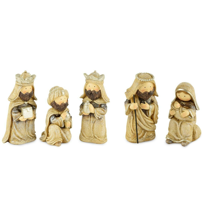 Set 5 stalfiguren