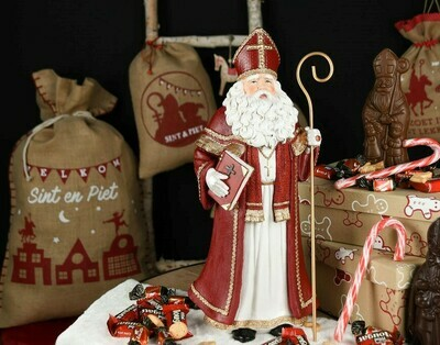 Sinterklaas staand