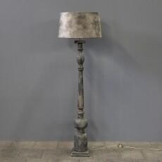 Vloerlamp (inclusief velvet kap)