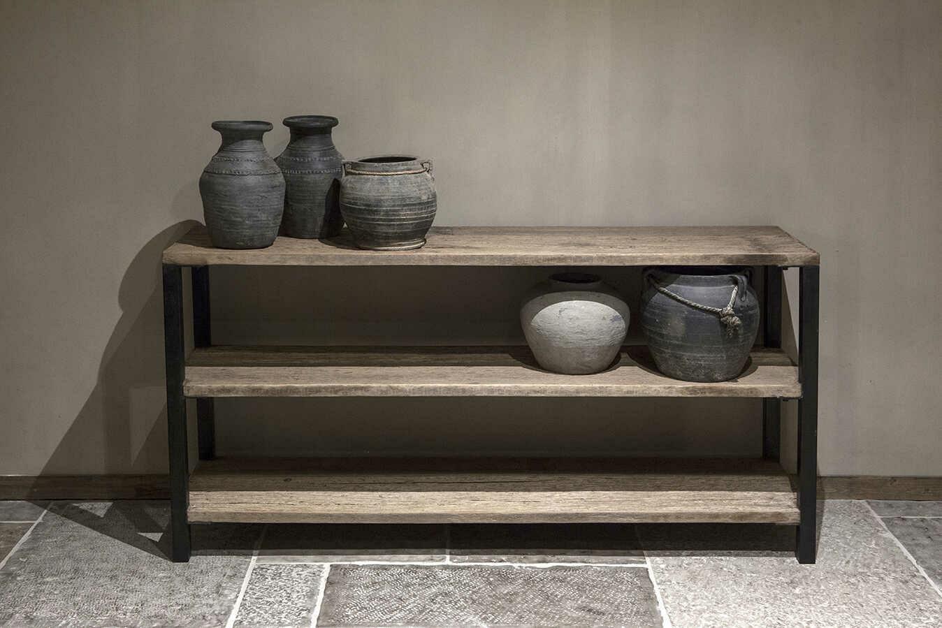 Wandtafel oud hout | Athene 160 cm