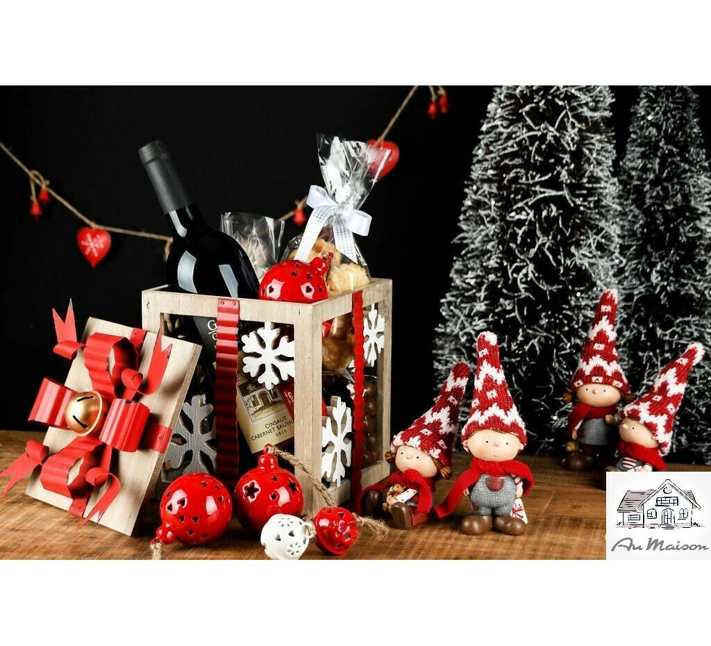 Geschenkdoos hout/metaal
