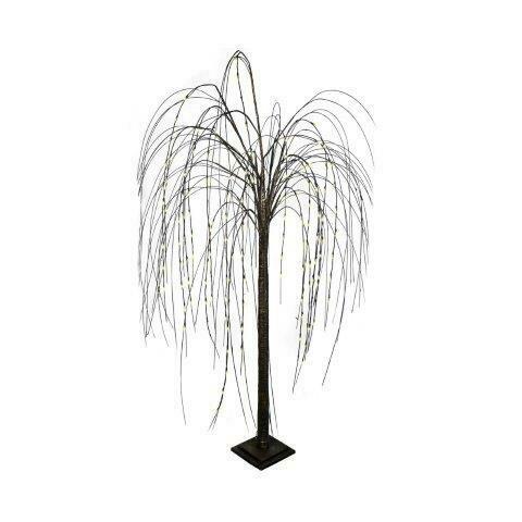 Decoratieboom 'Teardrops' zwart 180 cm