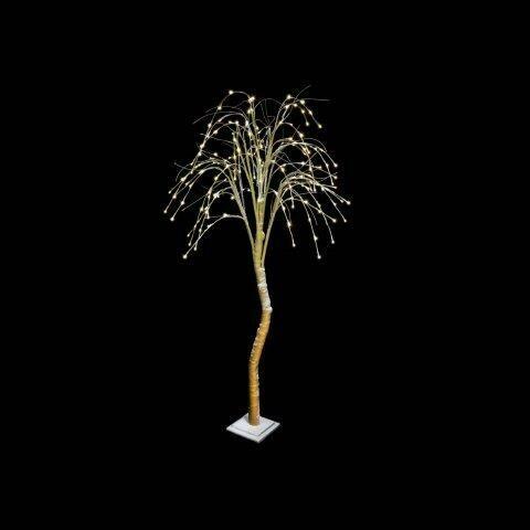 Decoratieboom 'Firework' lichtbruin/goud 180 cm