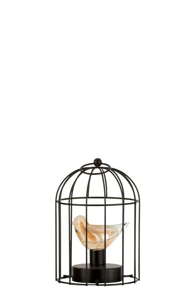Lamp Led Vogelkooi Ijzer Bruin Small