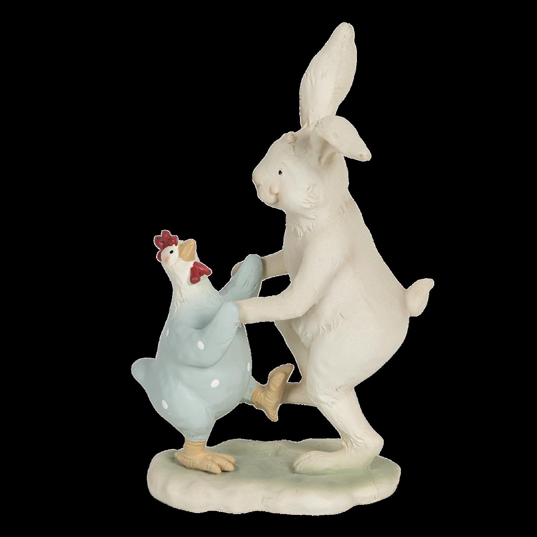 Dansend konijn met kip