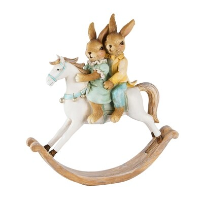 Bunny koppel op paard klein