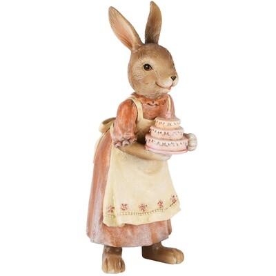 Bunny met taart