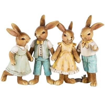 Bunny kwartet staand