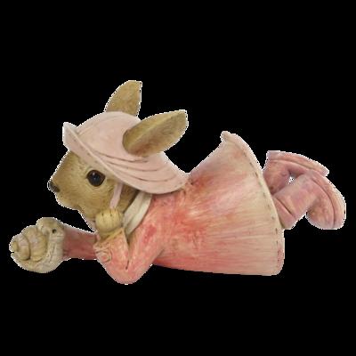 Konijn met slak
