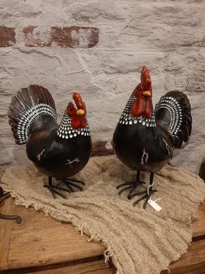 Set kip & haan zwart