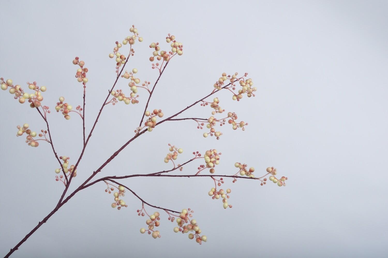 Bessentak roze/crème 100 cm
