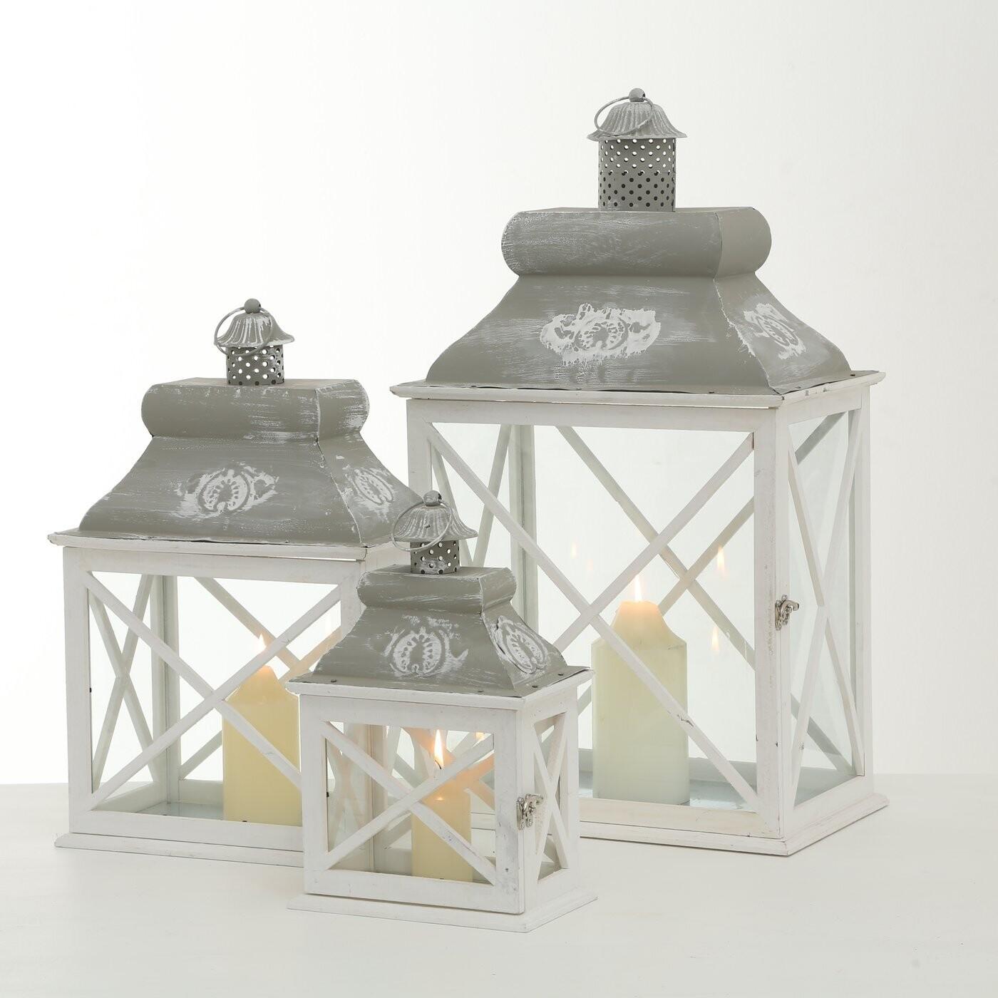 Set van 3 lantaarns Brighton