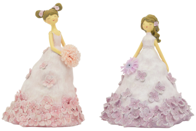 Bloemenmeisje lila klein (rechts)