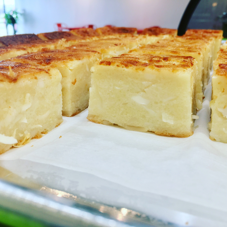 Coconut Cassava Cake
