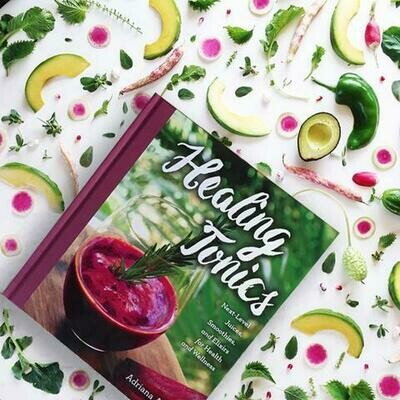 HEALING TONICS COOKBOOK by Anima Mundi