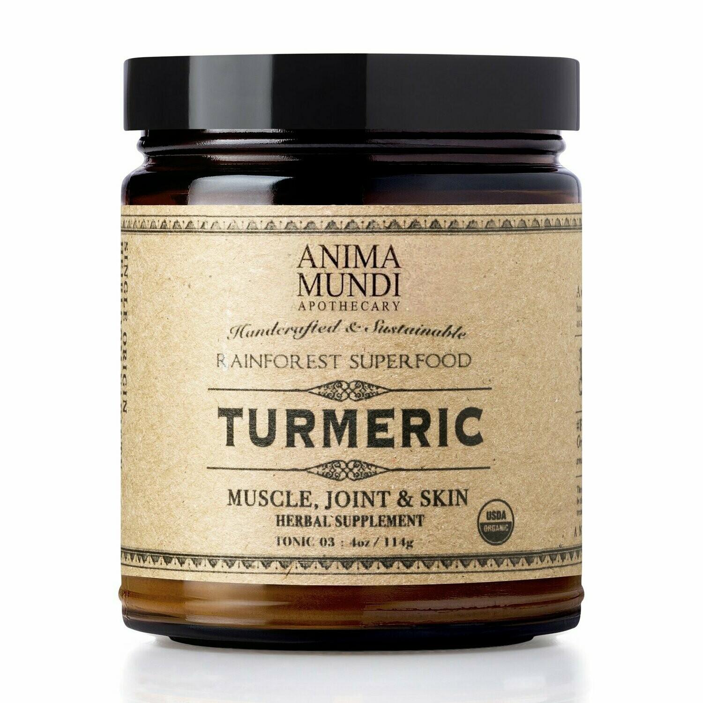 TURMERIC : ORGANIC + SINGLE ORIGIN by Anima Mundi
