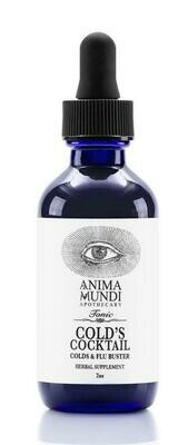 COLD'S COCKTAIL / HIGH POTENCY COLDS & FLU TONIC by Anima Mundi