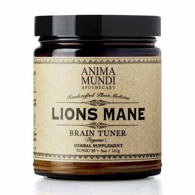 LIONS MANE : ORGANIC BRAIN BOOSTER by Anima Mundi