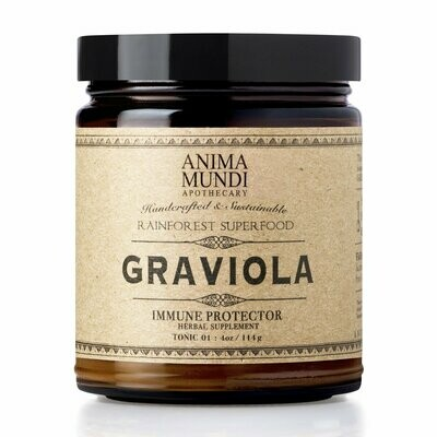 GRAVIOLA- SOURSOP (GUANOABANA) LEAF POWDER by Anima Mundi