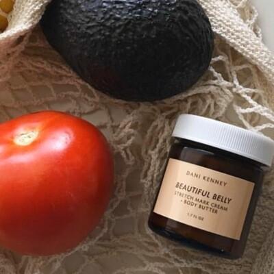 BEAUTIFUL BELLY   organic stretch mark + body butter
