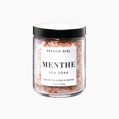 MENTHE SEA SOAK - ENLIVENING BATH SALTS by French Girl