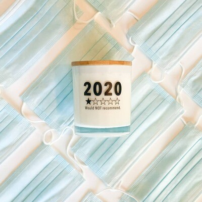 2020 WOULD NOT RECOMMEND SOY FUNNY CANDLE