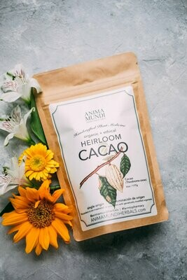 CACAO : RAW, HEIRLOOM + ORGANIC