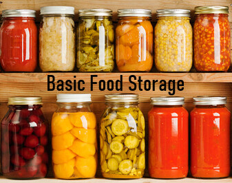 Prepper Classroom- Basic Food Storage- Episode 3
