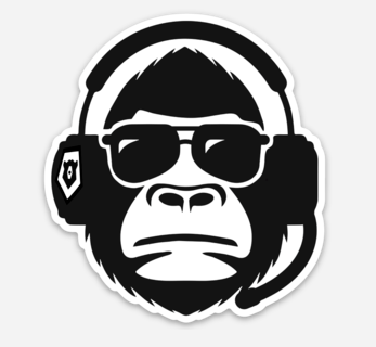 Dance Monkey Sticker