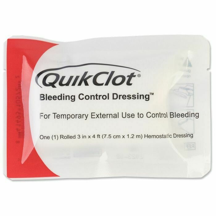 QUIKCLOT BLEEDING CONTROL ROLL DRESSING