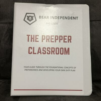 Prepper Classroom Study Guide Notebook