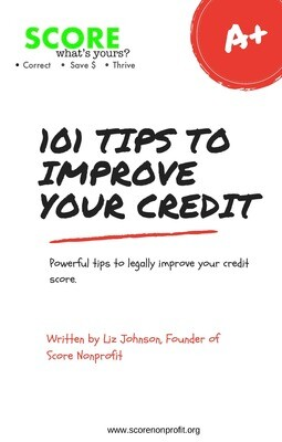 101 Tips to Improve Your Credit Score