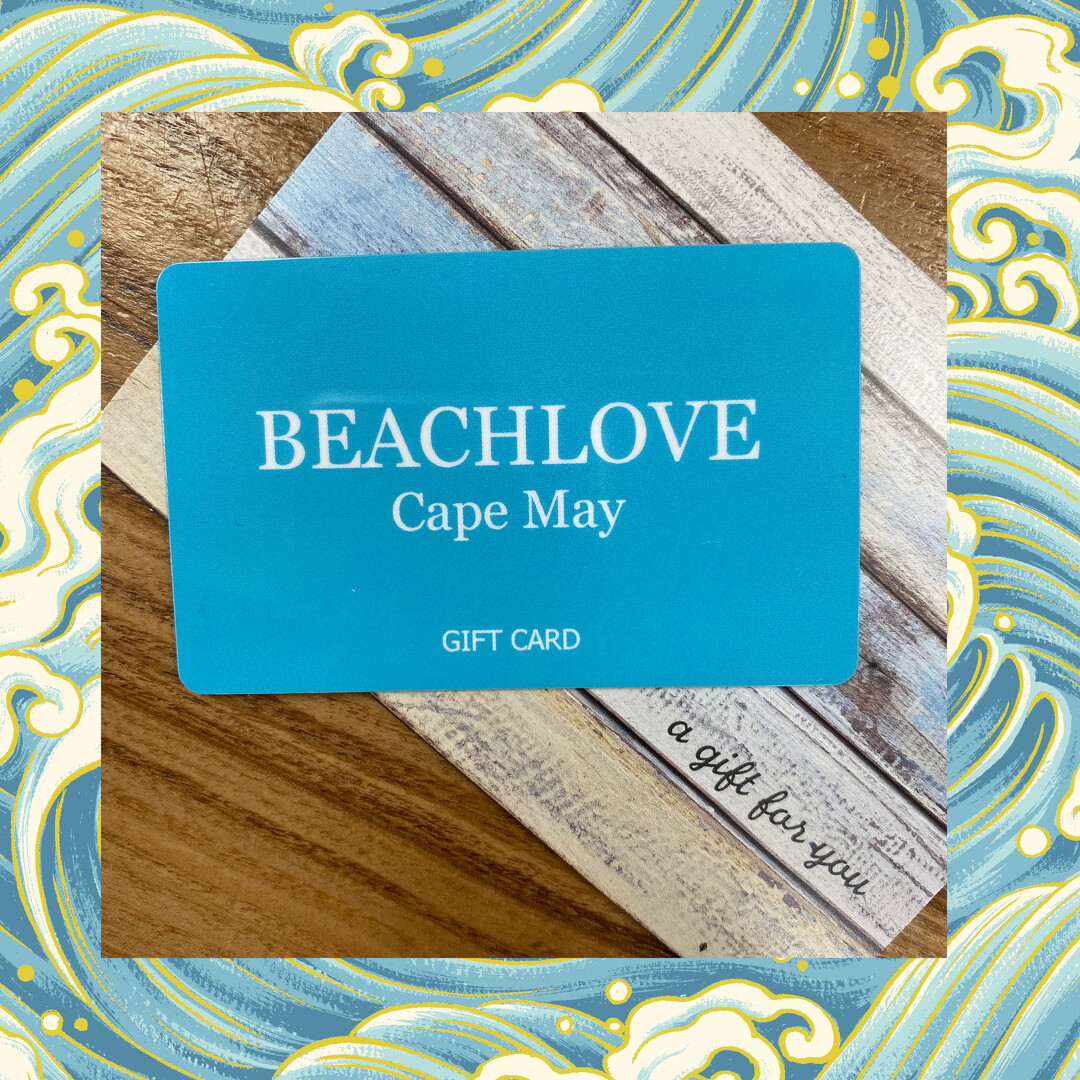 Beachlove Cape May Gift Card