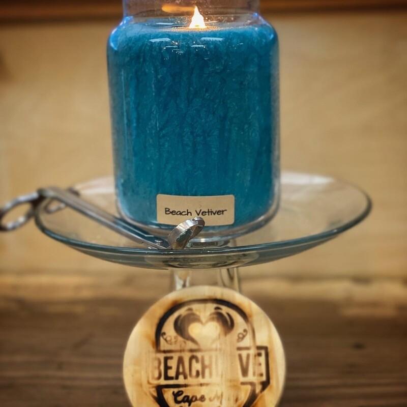 Beach Vetiver Apothecary Jar Candle x Beachlove