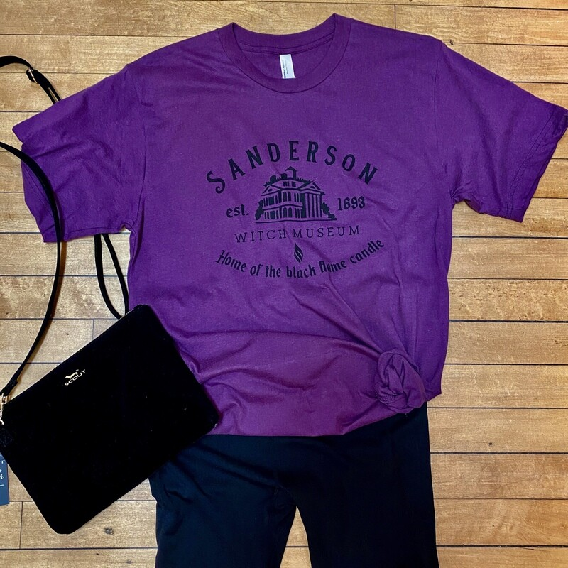 Sanderson Witch Museum Tee by American Apparel