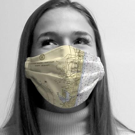 Asbury Park Custom Map Mask