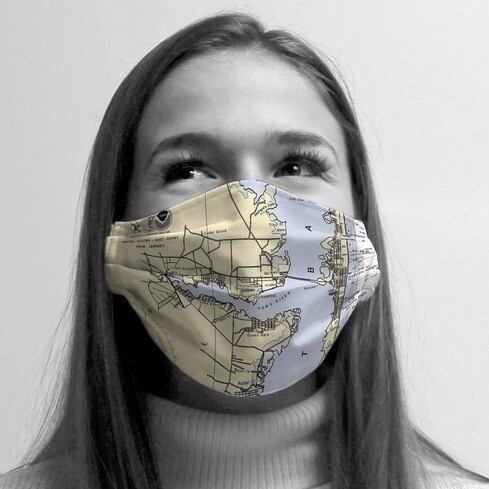 Ocean Gate/Toms River NJ Custom Map Mask
