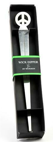 Wick Dipper with Peace Sign Motif