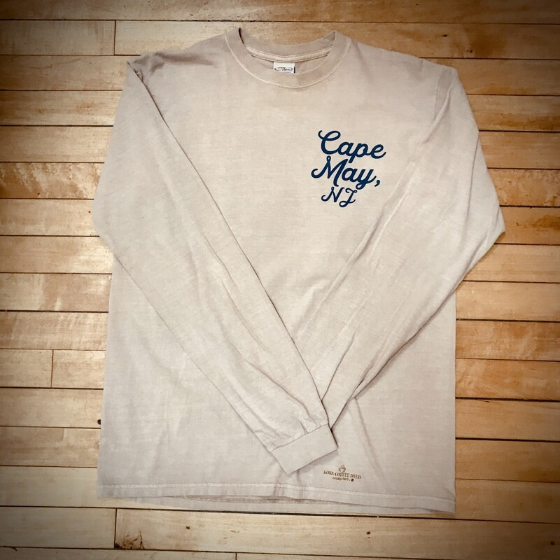 Cape May Long Sleeve Crew by Crazy Shirts - Unisex