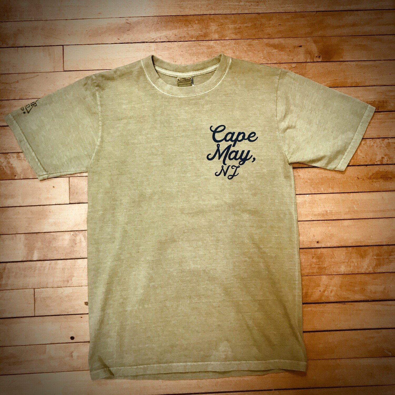 Cape May Short Sleeve Crew by Crazy Shirts - Unisex