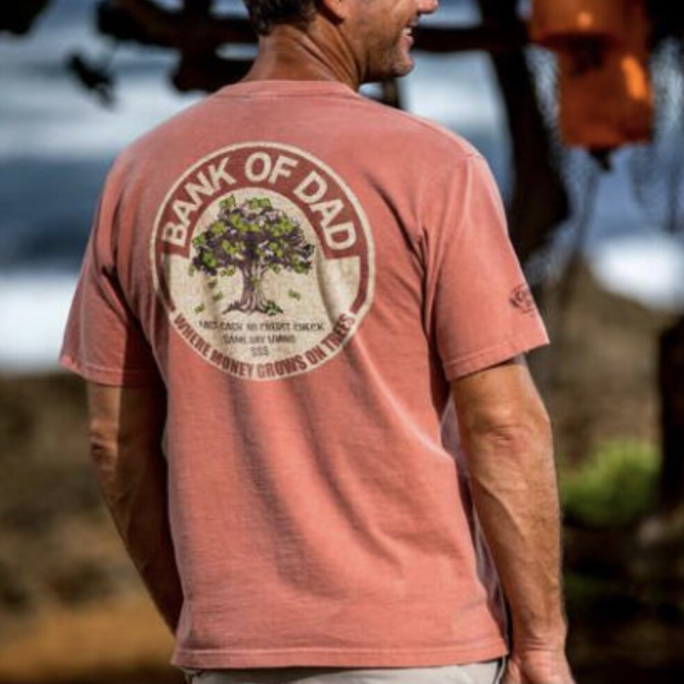 Bank of Dad Short Sleeve Crew Tee
