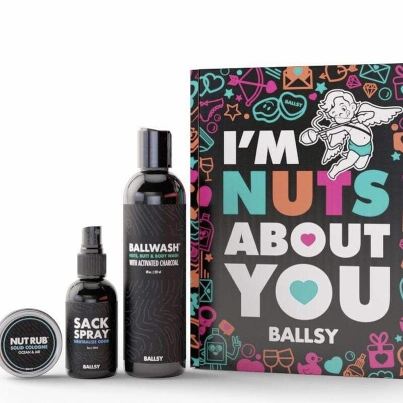 Nuts About You Sack Pack by Ballsy
