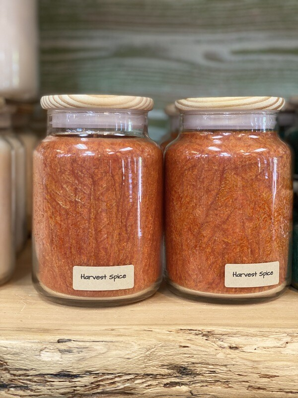 Harvest Spice Apothecary Jar Candle