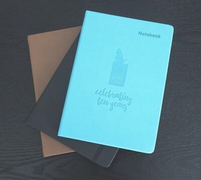 Ten Year celebration Journal