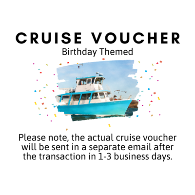 Cruise Voucher - Birthday Themed