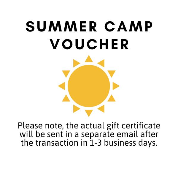 Summer Camp Voucher