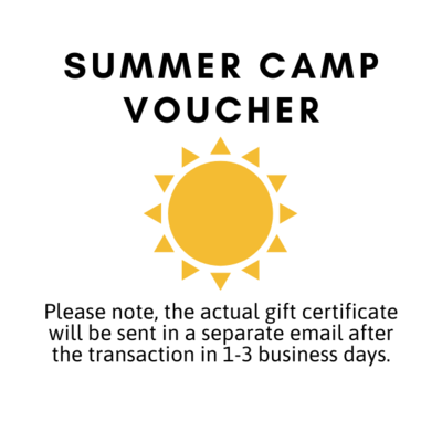 Summer Camp Voucher