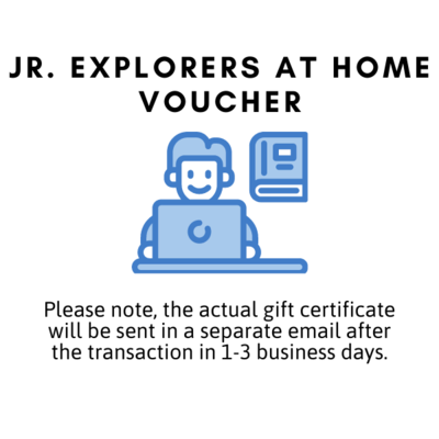 Jr. Explorers at Home