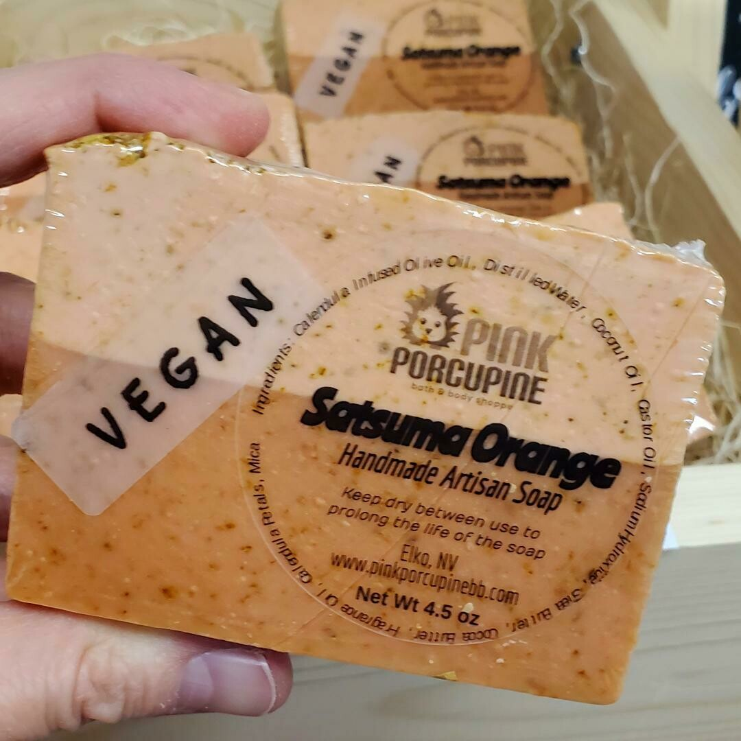 Soap - Satsuma Orange