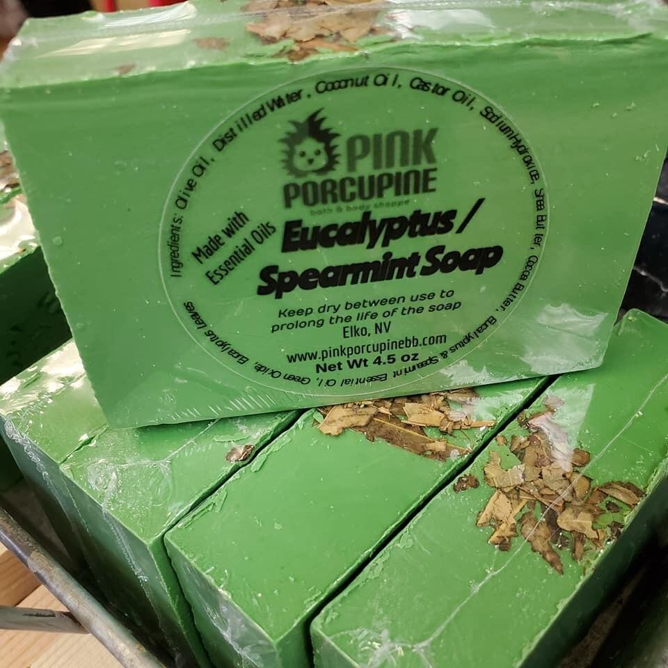 Soap - Eucalyptus Spearmint